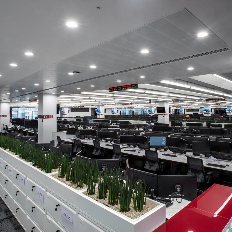 UBS London Trading Floor - SBFI