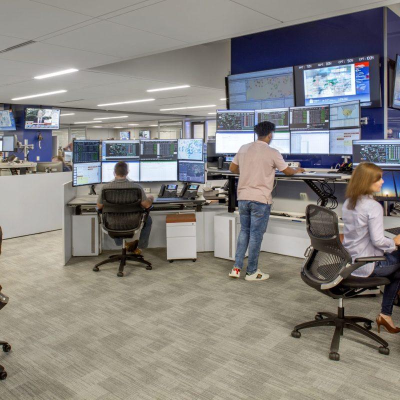 EDF Trading floor