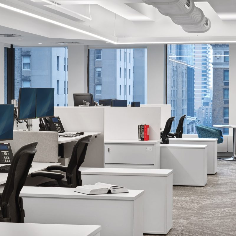 trading floor desks