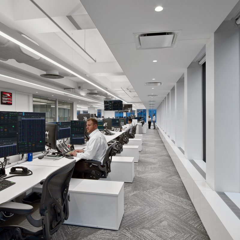 financial trading floor